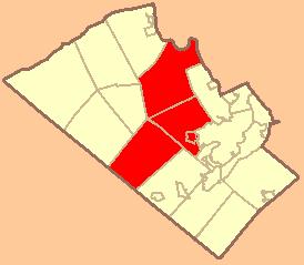 Wikipedia - Parkland School District Map