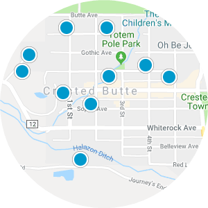 Gunnison Real Estate Map Search