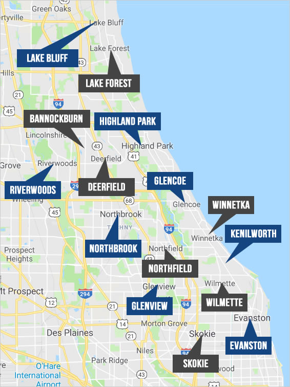Explore Chicago and Suburban Real Estate