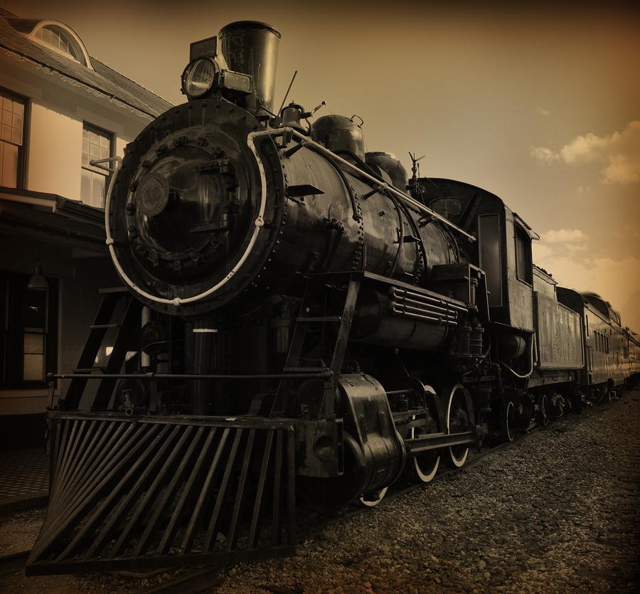 History buffs living in Tooele visit the railroad museum.