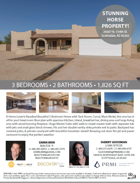 29307 North 154th Street, Scottsdale AZ