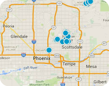 Greater Phoenix Real Estate Map
