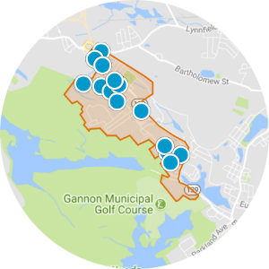 Upper Lynnfield Street Real Estate Map Search