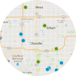 Dobson Ranch Real Estate Map Search