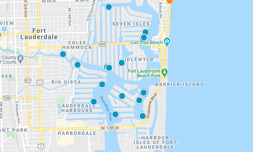 south florida mls map