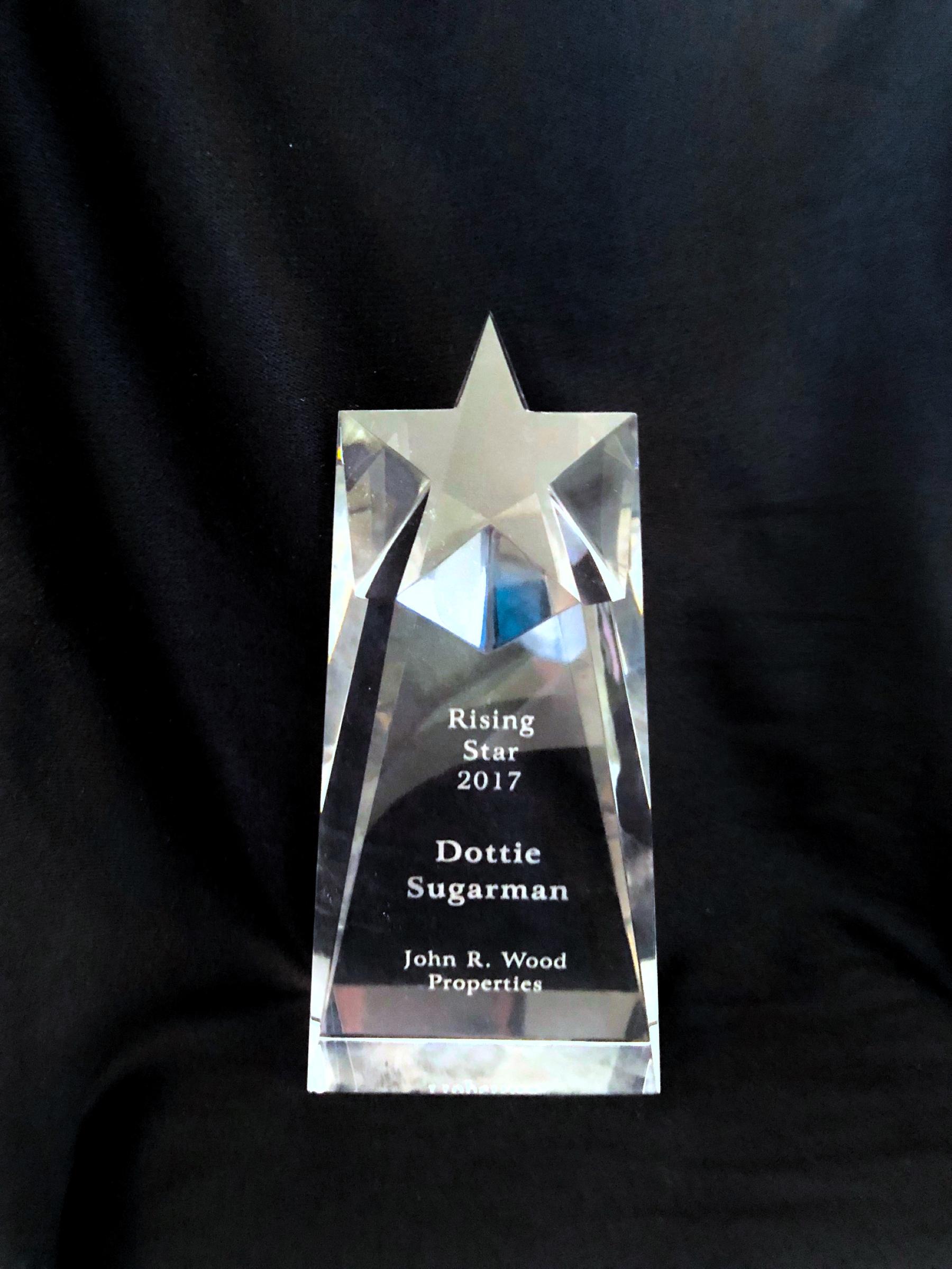 Rising Star Award presented by John R Wood Properties