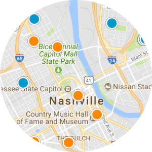 Nashville Real Estate Map Search