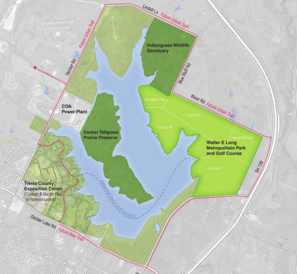 Purposed map of development, courtesy of Decker Lake Golf LLC's proposal.