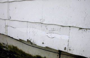 Damaged Asbestos Siding