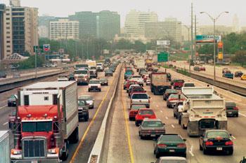 Traffic On I35
