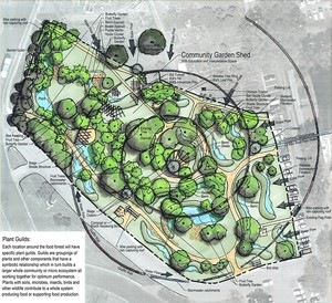 Proposed Holly Food Forest