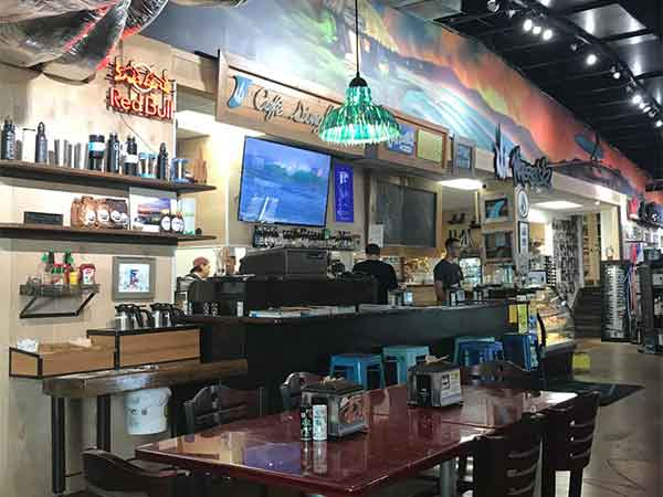 cafe single fin