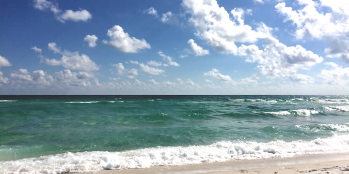 Gulf Coast Beach in Pensacola Beach FL