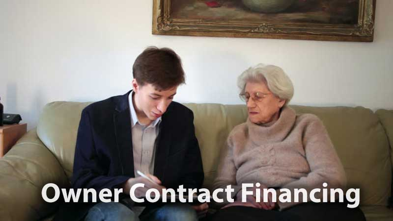 Owner carry contract between grandmother and grandson.
