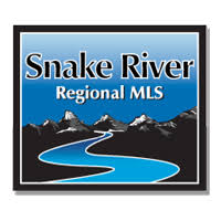 Logo and link to Snake River MLS East Idaho homes for sale search