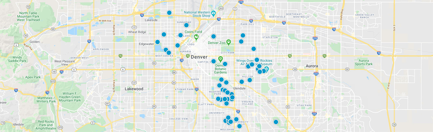 Denver Interactive Map Search