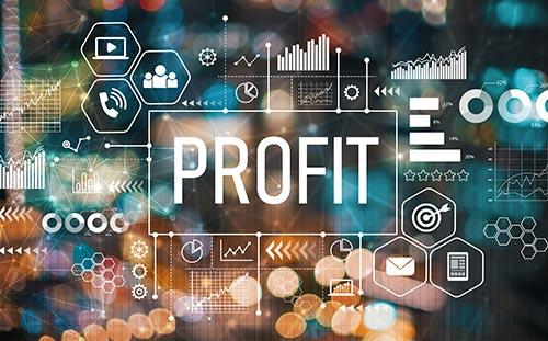 profit graphic