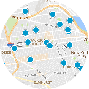 East Elmhurst Real Estate Map Search