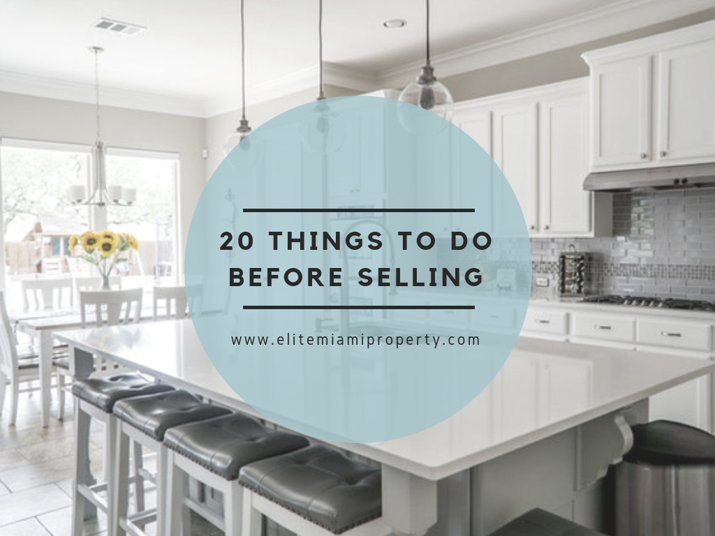 Thinking of Selling? Do These 20 Things First