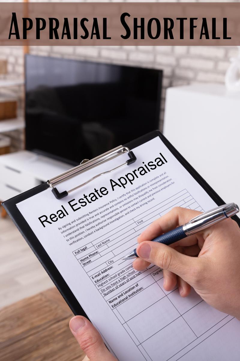 appraisal shortfall