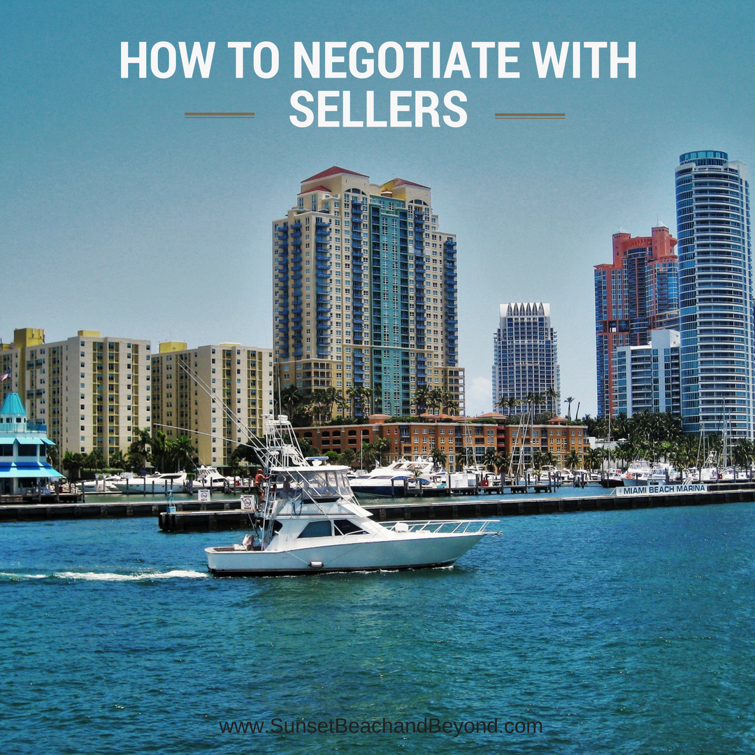 How To Negotiate with Sellers