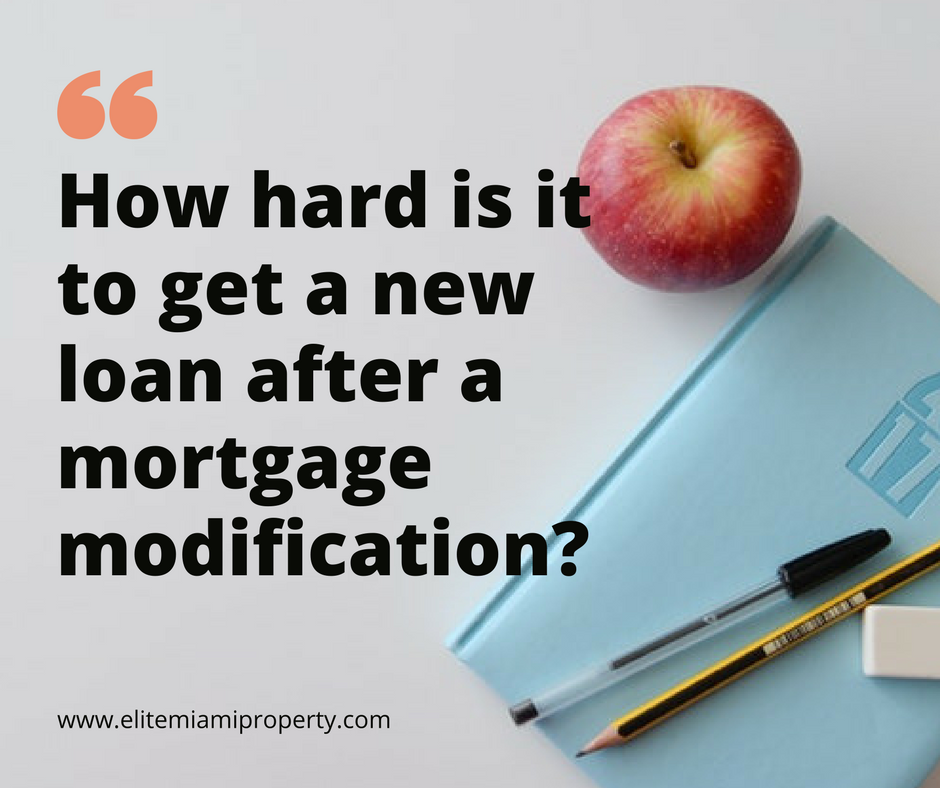 Getting Mortgage Approval After a Loan Modification