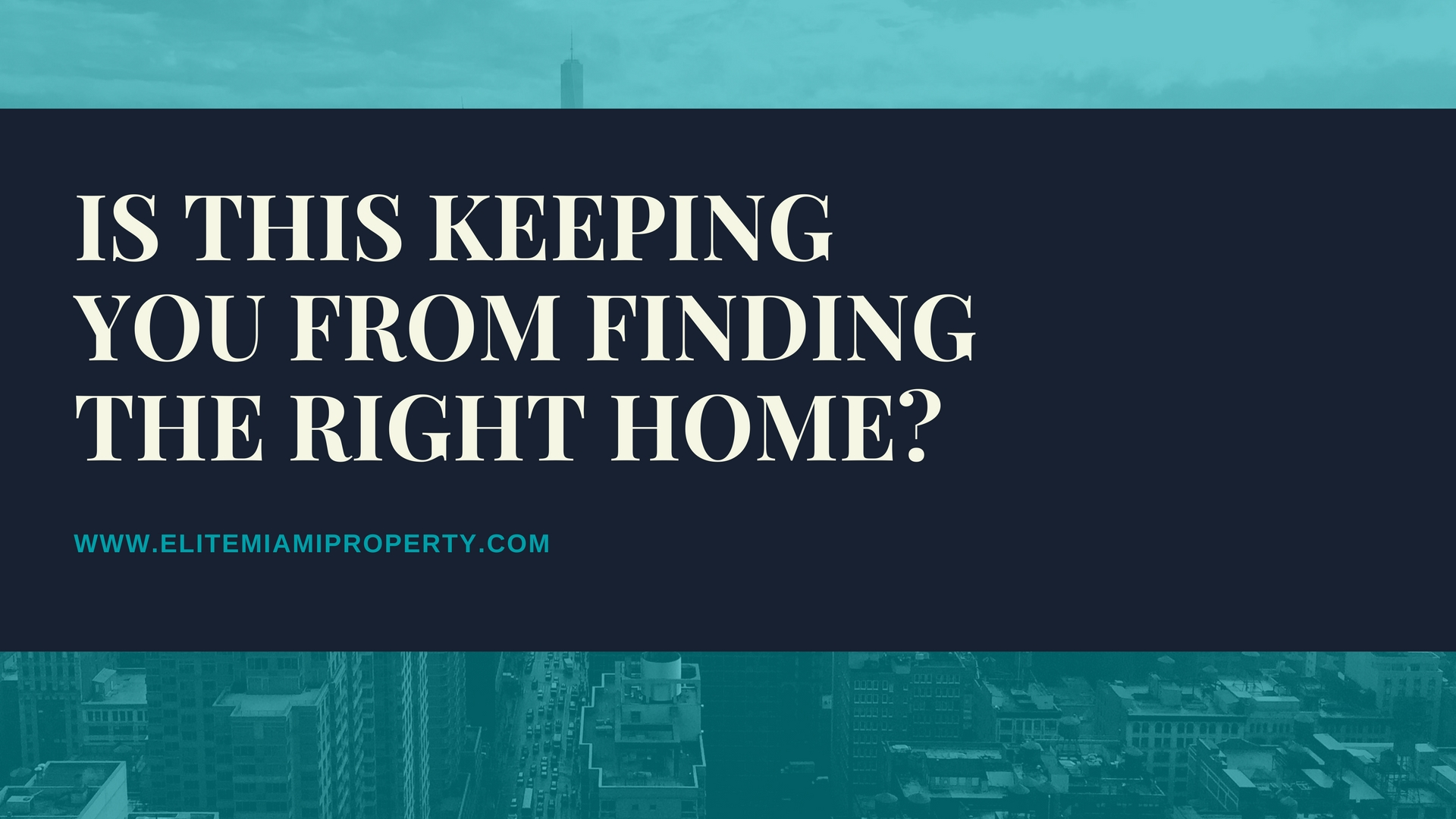 Is This Keeping You From Finding Your Next Home?