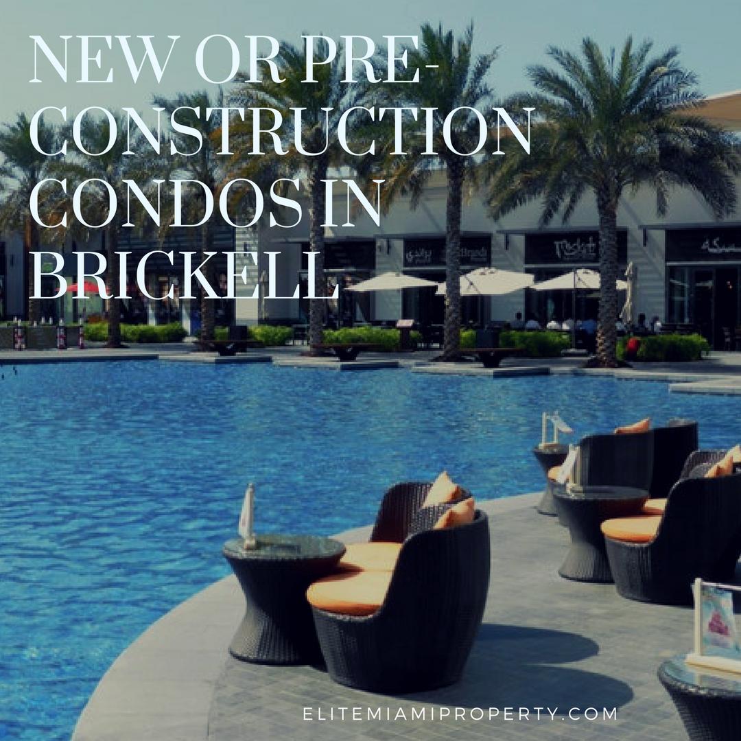 Pre-Construction Condos in Brickell