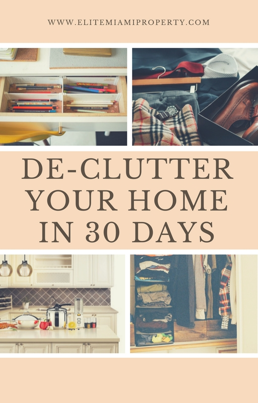 De-Clutter Your Home in 30 Days