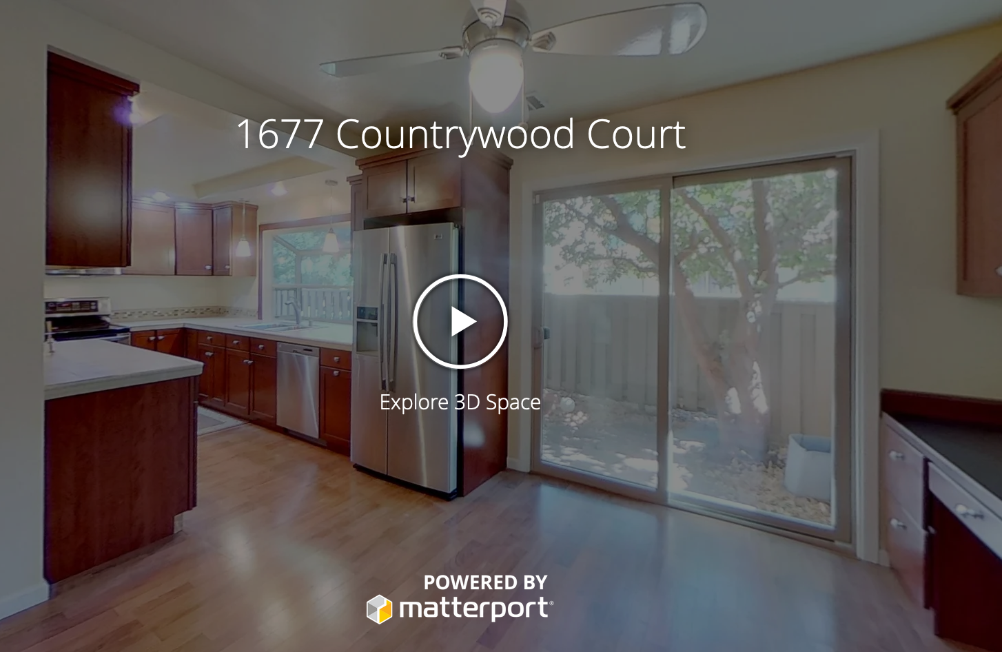 3d Tour of 1677 Countrywood Ct Walnut Creek, CA 94598