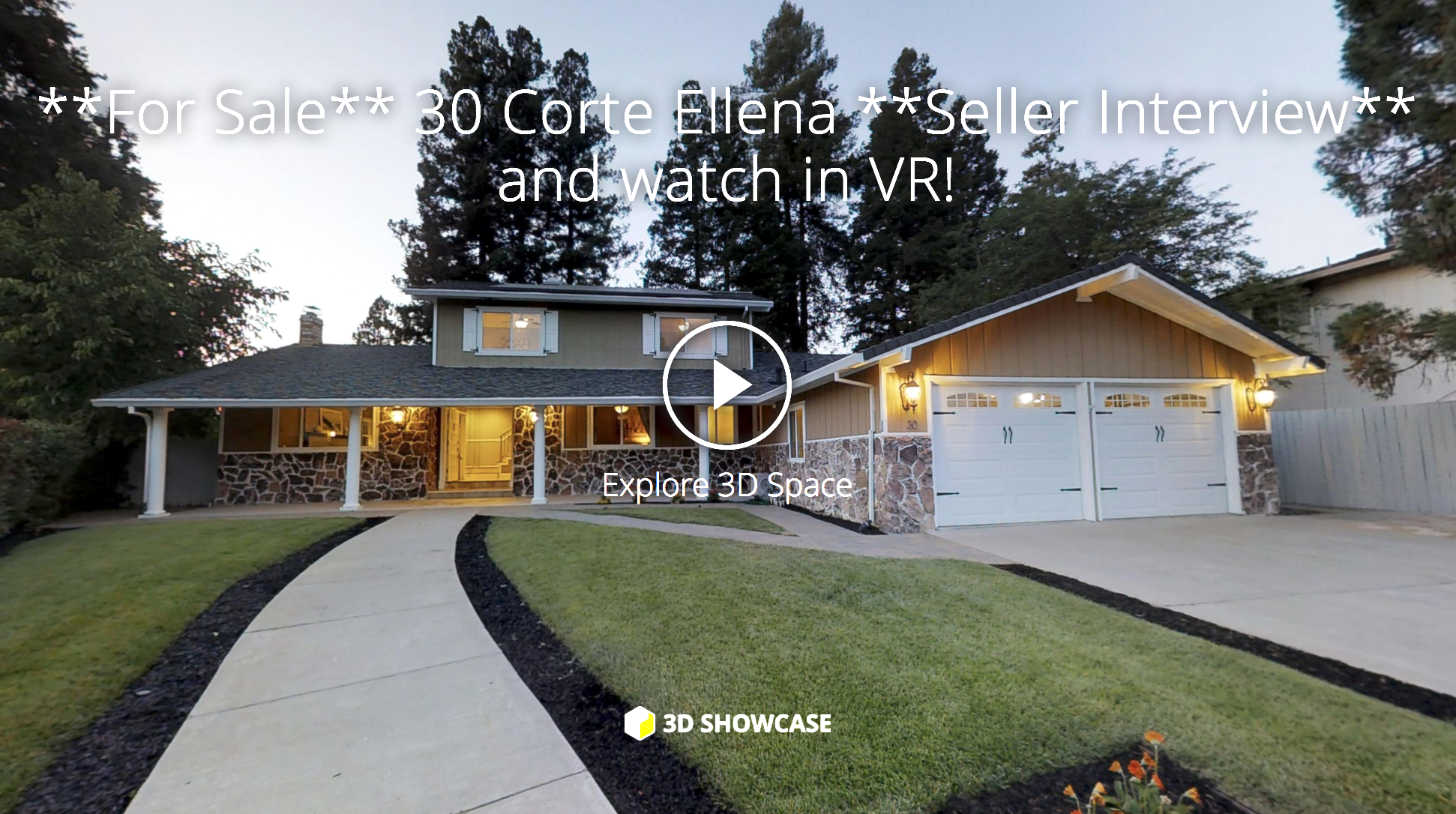 Click the link to watch the interactive 3d tour, even on VR!