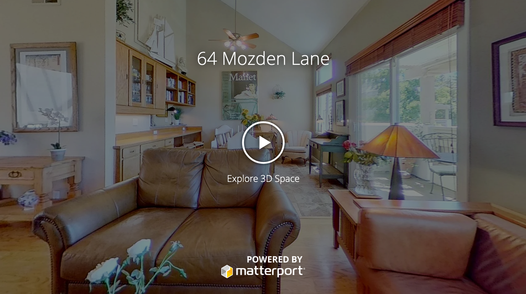 3d Tour of 64 Mozden Lane in Pleasant Hill