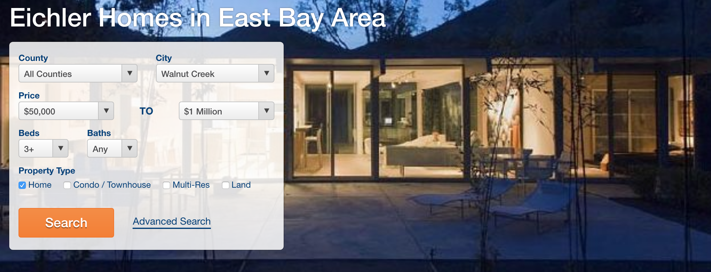 Eichler Homes in East Bay Area
