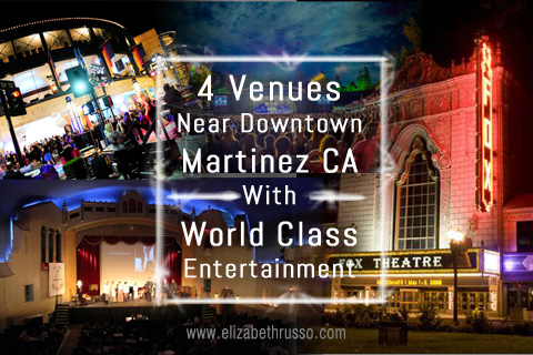 4 venues near downtown martinez ca with world class