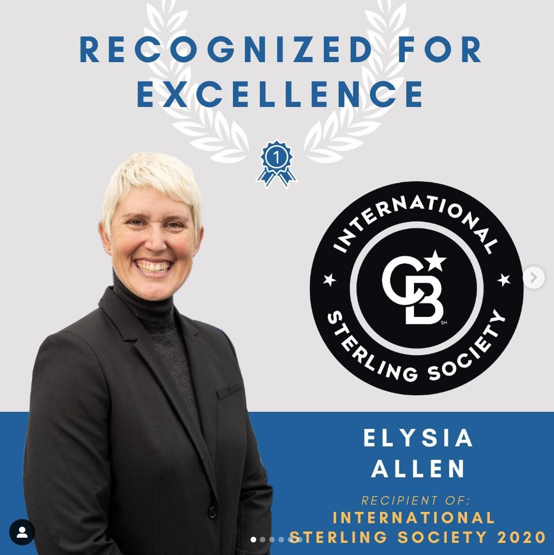 International Sterling Society Award 2020