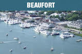 Beaufort NC by air is beautiful with boats