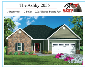 The Ashby Floor Plan Lake View New Bern NC