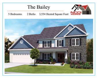 The Bailey Floor Plan Lake View New Bern NC