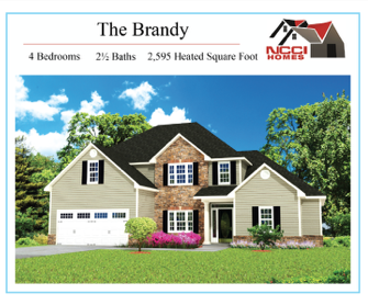 The Brandy Floor plan Lake View New Bern NC