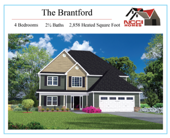 THE BRANTFORD Floor Plan Lake View New Bern NC