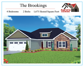 The Brookings floor plan Lake View New Bern NC