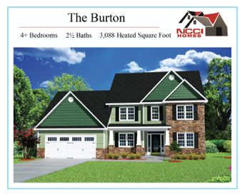 The Burton Floor Plan Lake View New Bern NC