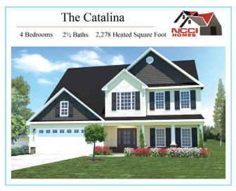 The Catalina Floor Plan Lake View New Bern NC