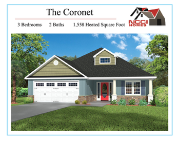 The Coronet Floor Plan Lake View New Bern NC