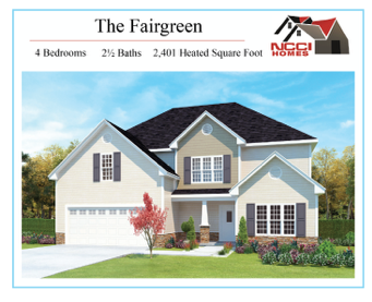 The Fairgreen Homes plan Lake View New Bern NC