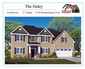 The Haley Floor Plan Lake View New Bern NC