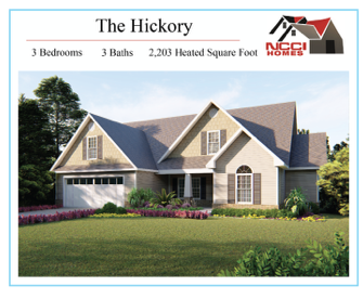 The Hickory Floorplan Lake View New Bern NC