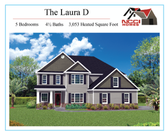 The Laura D Home plan lake View New Bern NC