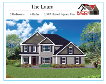 The Laura Floor plan Lake View New Bern NC