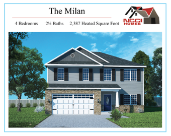 The Nolan Home Plan Lake View New Bern NC